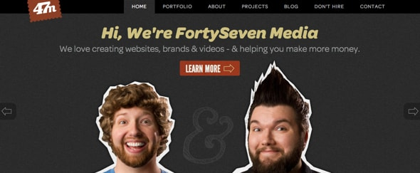 View Information about FortySeven Media