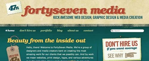 View Information about Forty Seven Media
