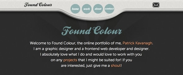 View Information about Found Colour