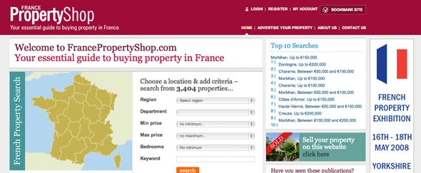 View Information about France Property