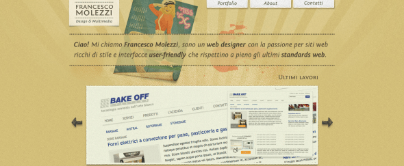 View Information about Francesco Molezzi