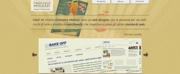 View Information about Francesco Molezzi