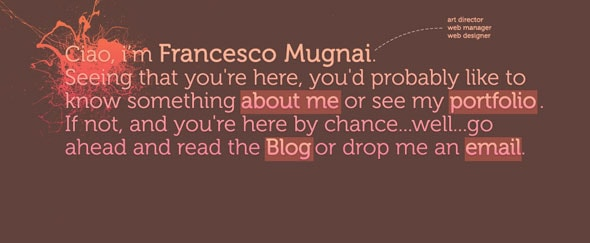 View Information about Francesco Mugnai