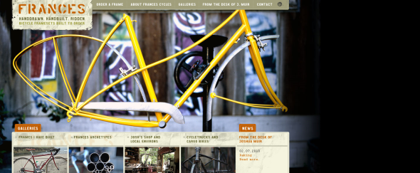 View Information about Frances Cycles