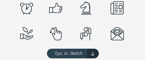 View Information about Sketch Icons
