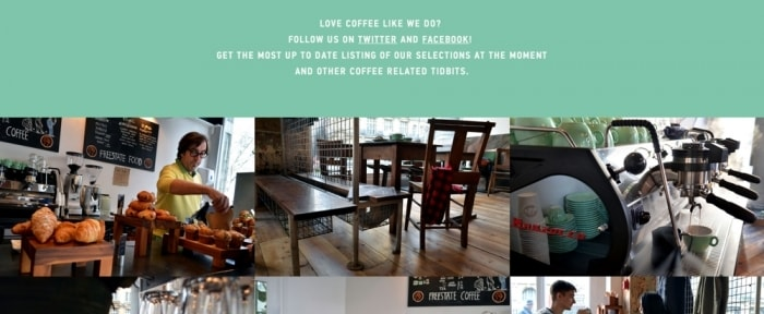 View Information about FreeState Coffee