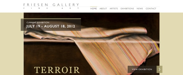 View Information about Friesen Gallery