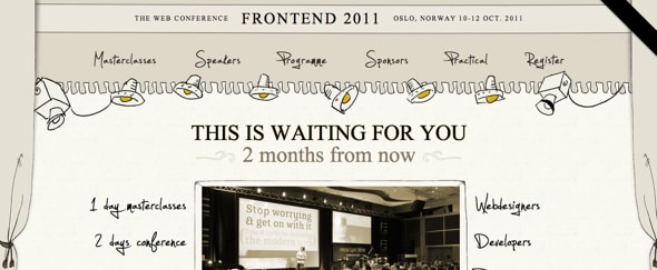 View Information about Frontend 2011