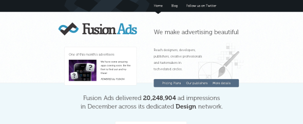 View Information about Fusion Ads