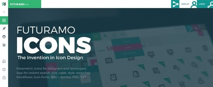View Information about Futuramo Icons