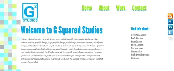View Information about G Squared Studios
