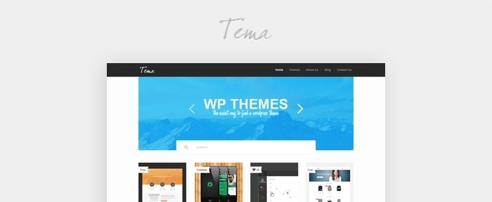 View Information about Gallery Theme PSD