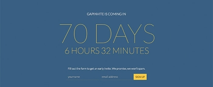 Go To GapInvite Wordpress Theme