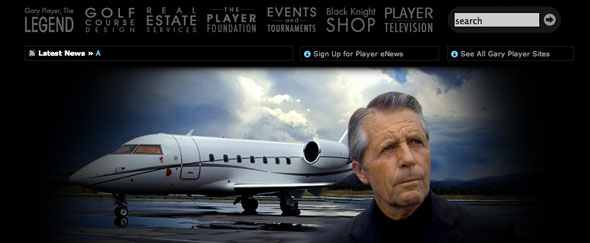 View Information about Gary Player