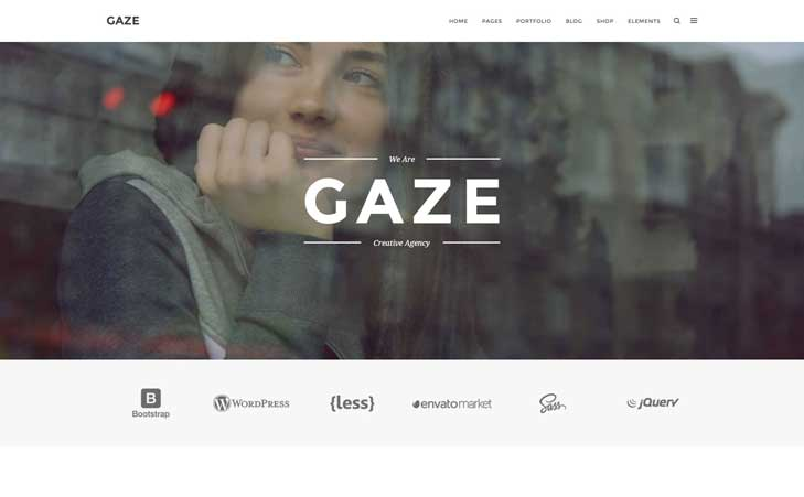 Go To Gaze HTML Template