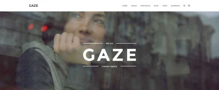 View Information about Gaze HTML Template