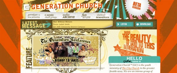 View Information about Generation Church