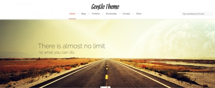 View Information about Gentle Responsive Theme