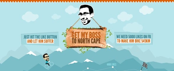 Go To Get My Boss to North Cape