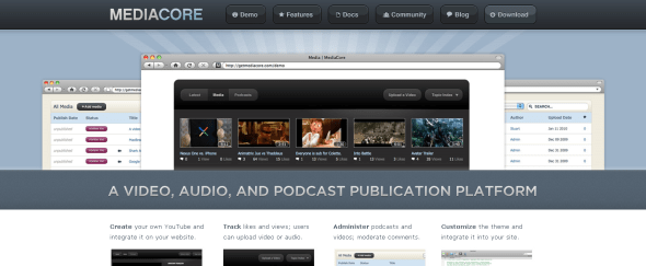 View Information about MediaCore