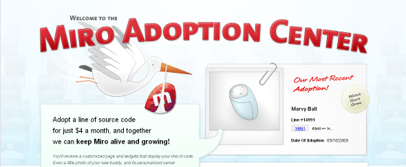 View Information about Micro Adoption Center