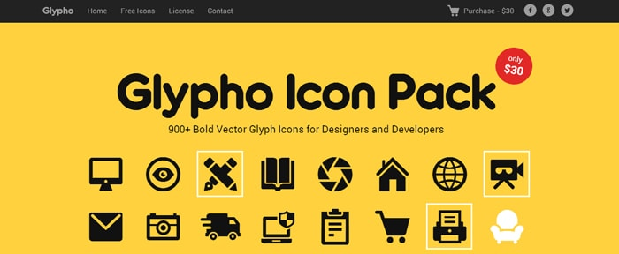 Go To Glypho Icon Pack