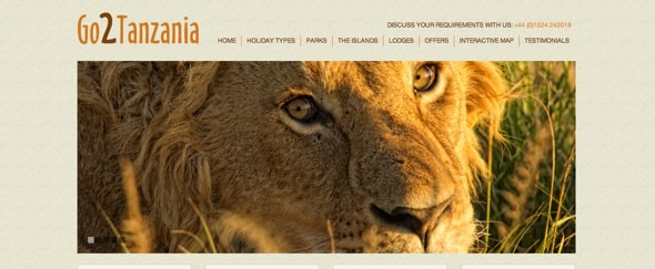 View Information about Go2Tanzania