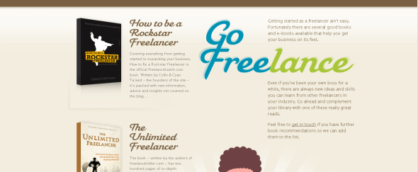 View Information about Go Freelance