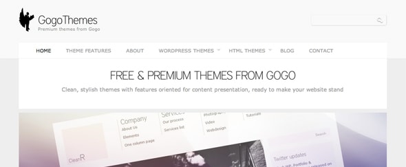 View Information about GogoThemes