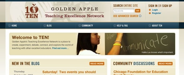 View Information about Golden Apple Ten