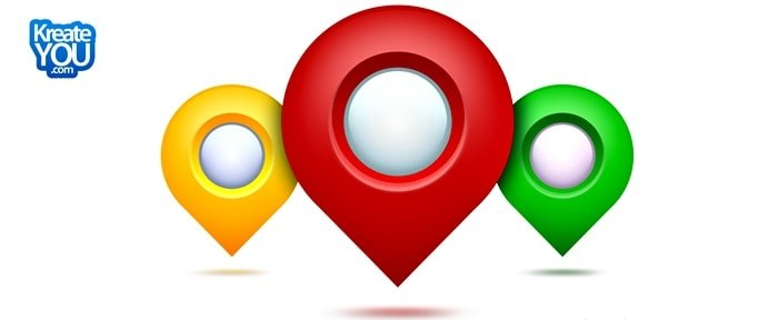 Go To Google Maps Pointer Icon