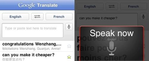View Information about Google Translate