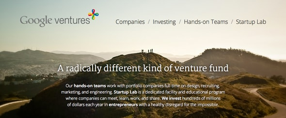 View Information about Google Ventures