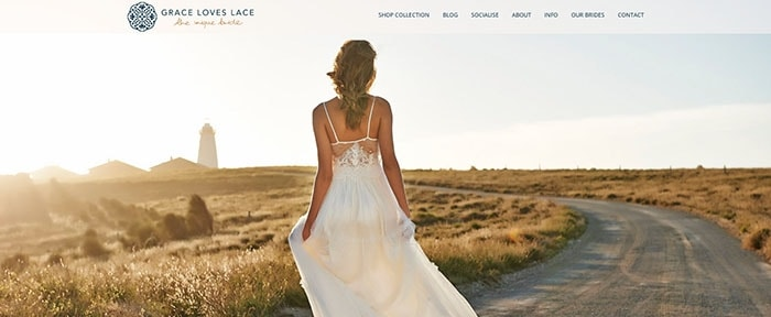 View Information about Grace Loves Lace