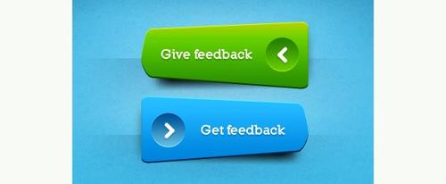 View Information about Green and Blue Buttons