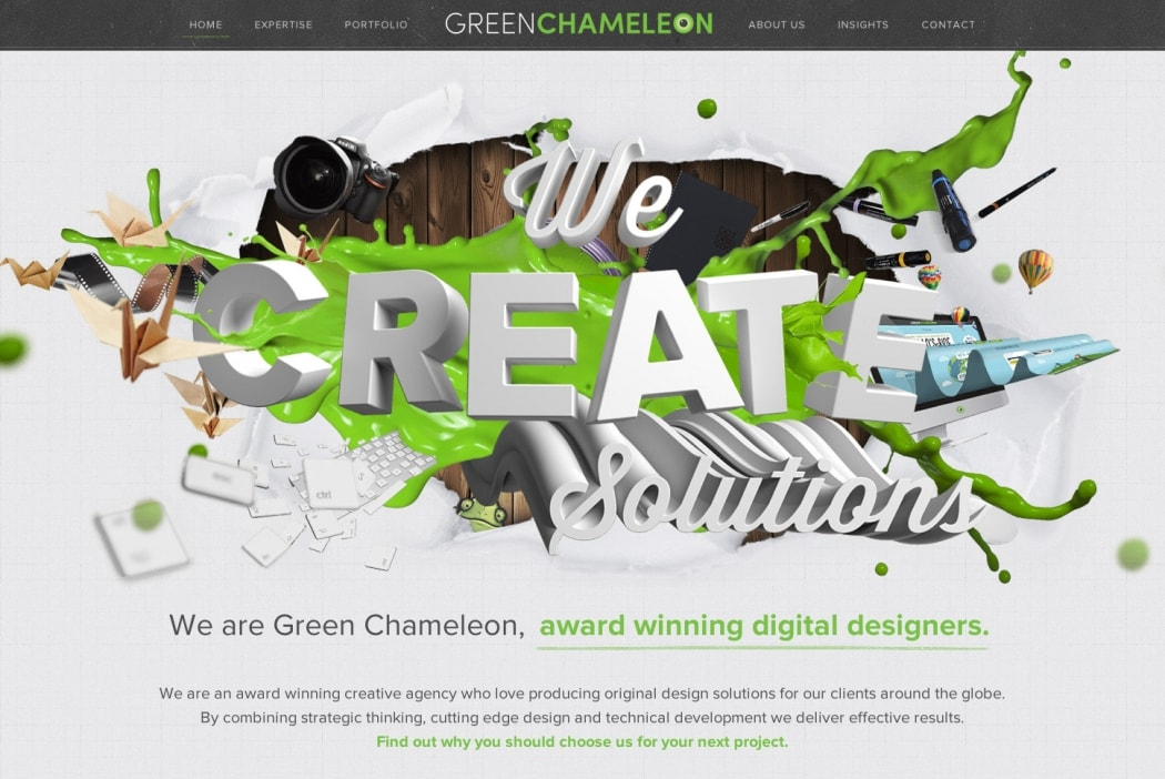 Go To Green Chameleon