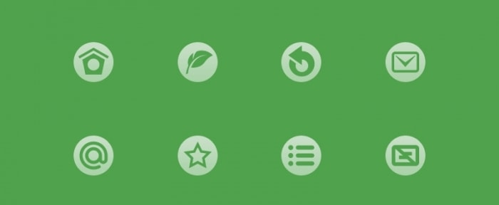 View Information about Green Icons