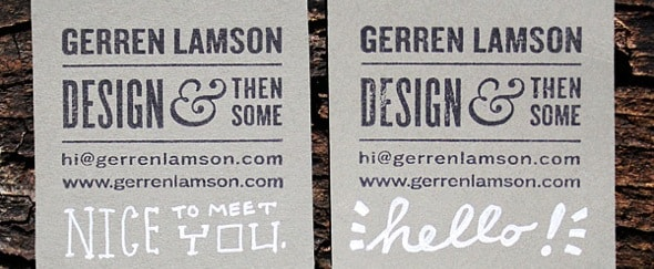 Go To Hand-crafted Business Cards