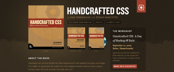 View Information about Handcrafted CSS
