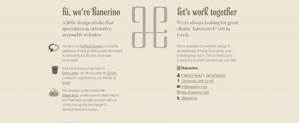View Information about Hanerino-A little design studio