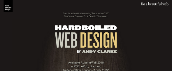 View Information about Hardboiled Web Design