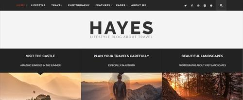 View Information about Hayes
