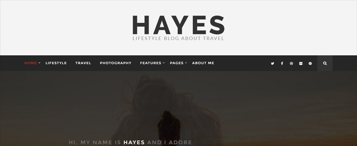 View Information about Hayes – The Traveler