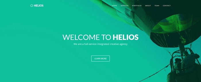 View Information about Helios Template
