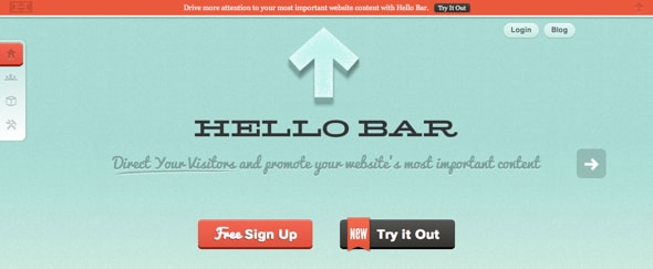 View Information about Hello Bar