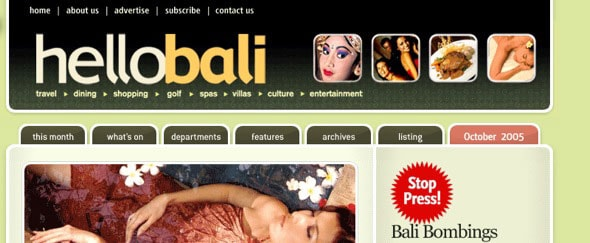 View Information about Hello Bali
