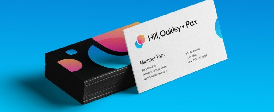 Go To Hill, Oakley and Pax Business Cards