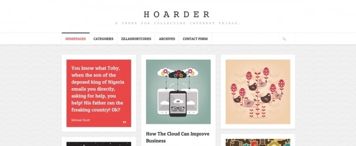 View Information about Hoarder