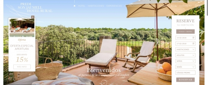View Information about Hotel Son Jaumell