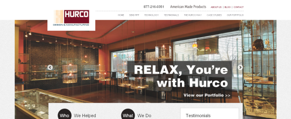 View Information about Hurco Design & Manufacturing